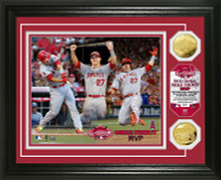 2015 MLB All-Star Game MVP Gold Coin Photo Mint