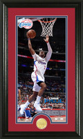 Chris Paul Bronze Coin Panoramic Photo Mint