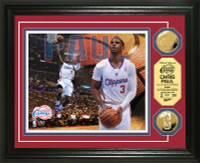 Chris Paul Gold Coin Photo Mint