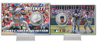 Josh Beckett No Hitter Silver Coin Card