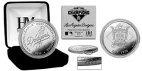 Los Angeles Dodgers 2015 Division Champions Silver Mint Coin