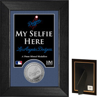 Los Angeles Dodgers Selfie Minted Coin Mini Mint