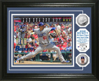 Josh Beckett No Hitter Silver Coin Photo Mint