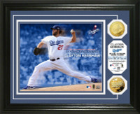 Clayton Kershaw 2014 NL Cy Young Gold Coin Photo Mint