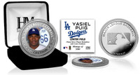 Yasiel Puig Silver Color Coin