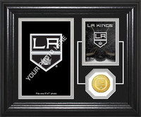 Los Angeles Kings Fan Memories Bronze Coin Desktop Photo Mint