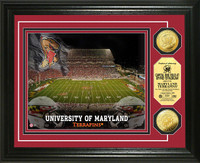 University of Maryland Stadium Gold Coin Photo Mint