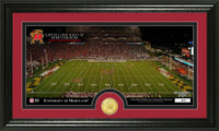 University Of Maryland Stadium Bronze Coin Panoramic Photo Mint