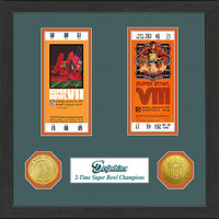 Miami Dolphins SB Championship Ticket Collection