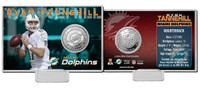 Ryan Tannehill Silver Coin Card