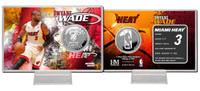 Dwyane Wade Silver Coin Card