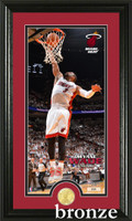 Dwayne Wade Bronze Coin Panoramic Photo Mint