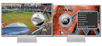 Marlins Park Silver Coin Card