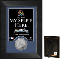 Miami Marlins Selfie Minted Coin Mini Mint