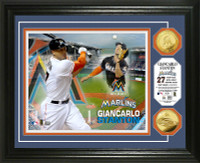 Giancarlo Stanton Gold Coin Photo Mint