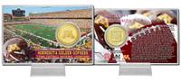 Univeristy of Minnesota Brinze Coin Card