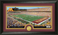 University Of Minnesota Stadium Bronze Coin Panoramic Photo Mint