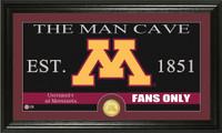 University of Minnesota Man Cave Bronze Coin Panoramic Photo Mint