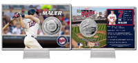Joe Mauer Silver Coin Card