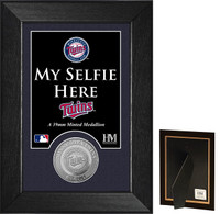 Minnesota Twins Selfie Minted Coin Mini Mint