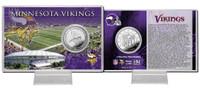 Minnesota Vikings Silver Coin Card