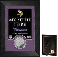 Minnesota Vikings Selfie Minted Coin Mini Mint