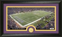 Minnesota Vikings Stadium Bronze Coin Panoramic Photo Mint