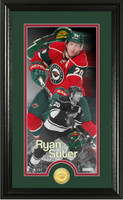 Ryan Suter Supreme Bronze Coin Panoramic Photo Mint