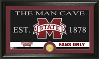 Mississippi State University Man Cave Bronze Coin Panoramic Photo Mint