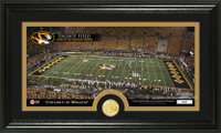 University of Missouri Stadium Bronze Coin Panoramic Photo Mint
