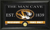 University of Missouri Man Cave Bronze Coin Panoramic Photo Mint