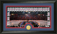 Montreal Canadiens Tradition Minted Coin Pano Photo Mint