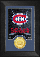 Montreal Canadiens Bronze Coin Mini Mint