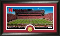 University Of Nebraska Stadium Bronze Coin Panoramic Photo Mint