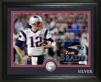 Tom Brady Career Silver Coin Photo Mint
