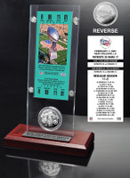 Super Bowl 36 Ticket & Game Coin Collection
