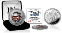 Tom Brady Silver Color Coin