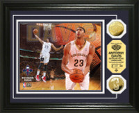 Anthony Davis Gold Coin Photo Mint