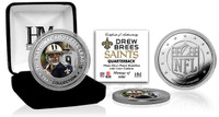 Drew Brees Silver Color Coin