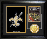 New Orleans Saints Framed Memories Desktop Photo Mint
