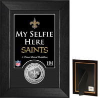 New Orleans Saints Selfie Minted Coin Mini Mint