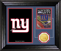 New York Giants Framed Memories Desktop Photo Mint