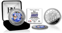 Eli Manning Silver Color Coin