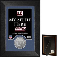 New York Giants Selfie Minted Coin Mini Mint