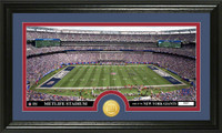 New York Giants Stadium Bronze Coin Panoramic Photo Mint