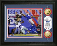 Odell Beckham Jr. TD Catch Gold Coin Photo Mint