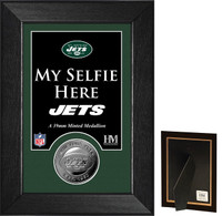 New York Jets Selfie Minted Coin Mini Mint