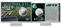 New York Jets Silver Coin Card