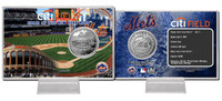 Citi Field Silver Coin Card