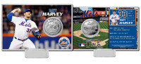 Matt Harvey Silver Coin Card